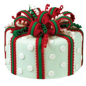 Holiday Happiness Cake