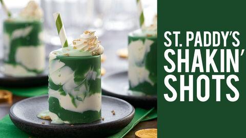 Saint Patricks Day Shakin Shots