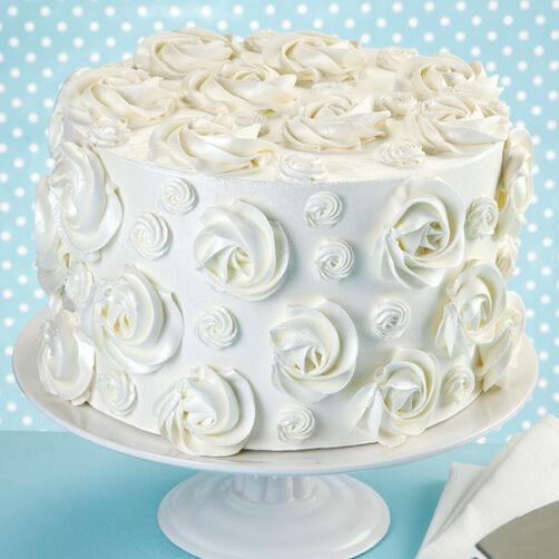 Never Forget Rosette Cake Wilton