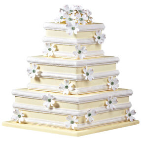 Distinctive Dogwood Cake