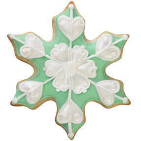 Sophisticated Snowflake Cookies