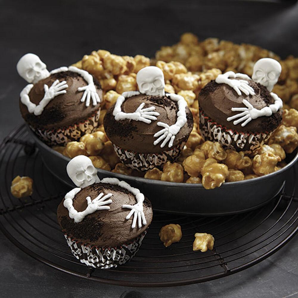 skeleton cupcakes wilton