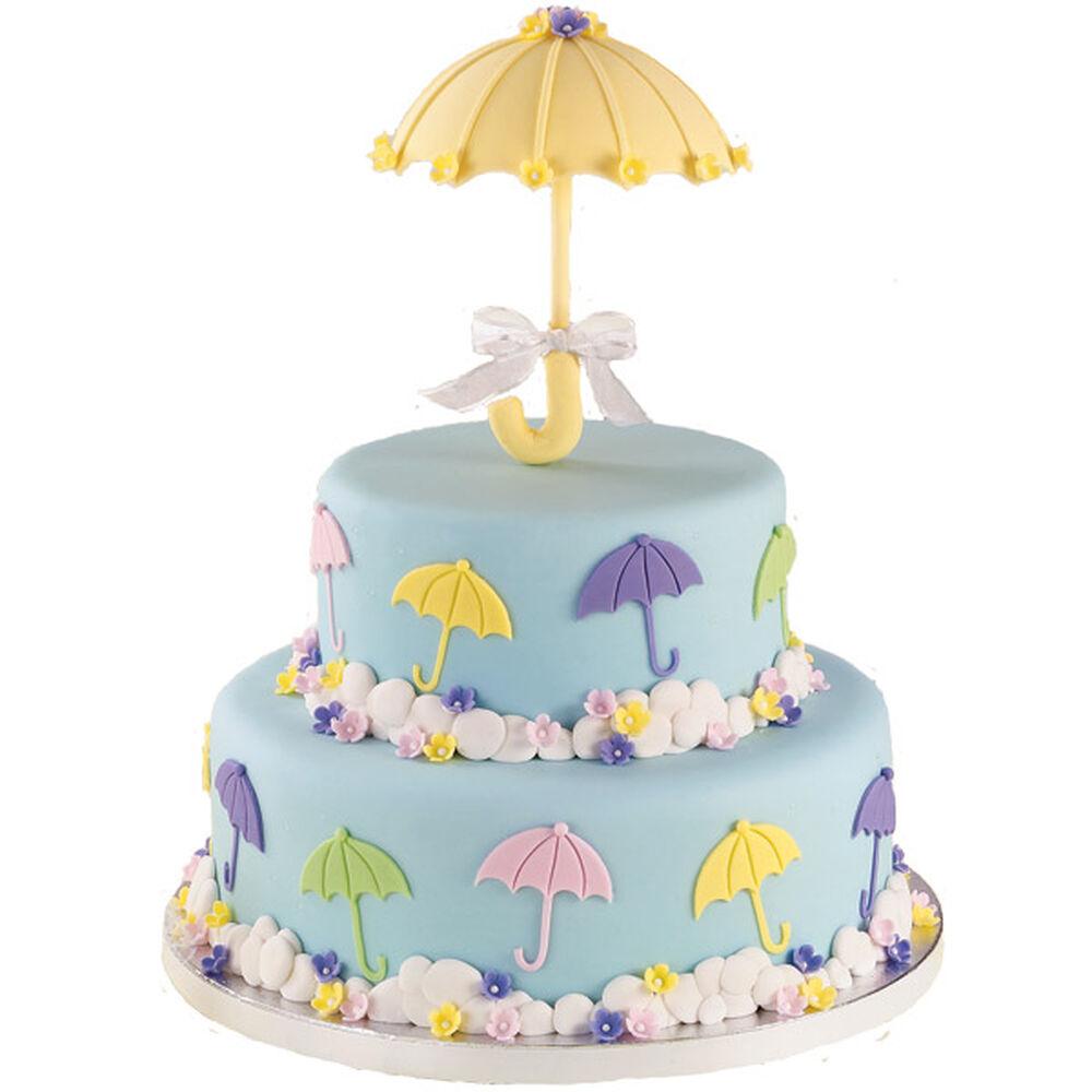 romance in the rain cake wilton