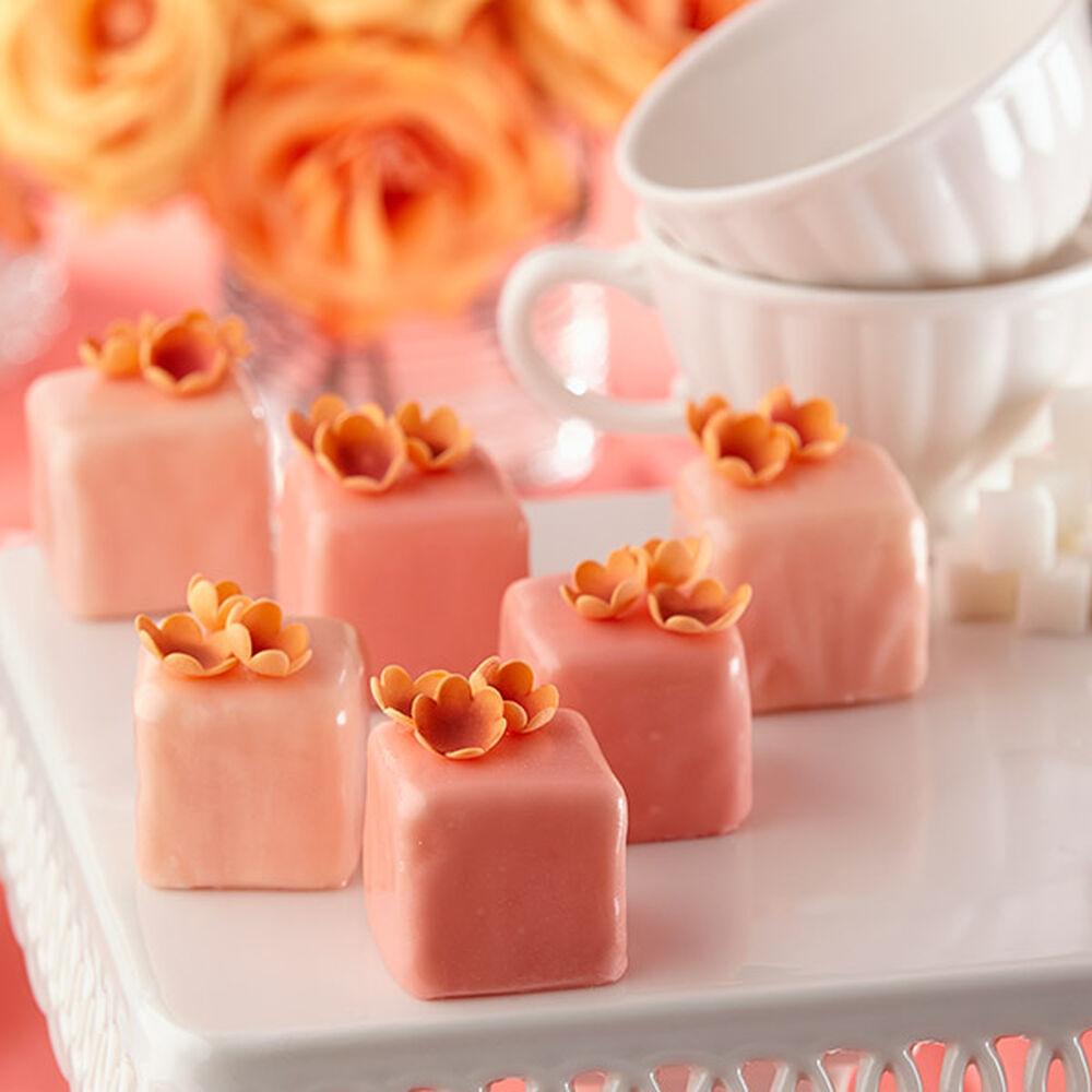 Blossom Blush Petit Fours Wilton