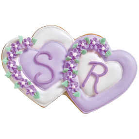 Wedding Hearts Cookies