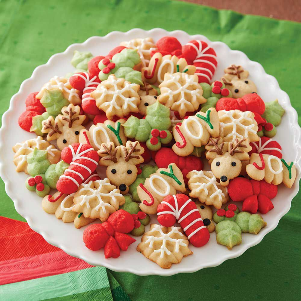 Wilton cookie press cookies recipes