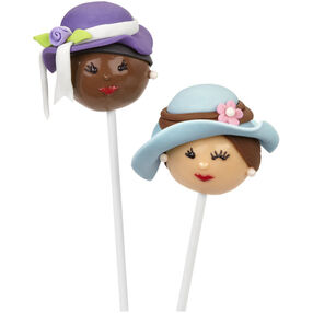 Lovely Ladies Mother's Day Cake Pops