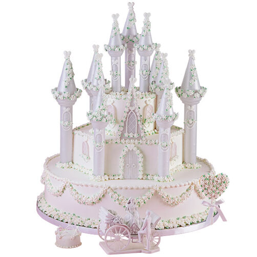 A Fairytale Romance Cake