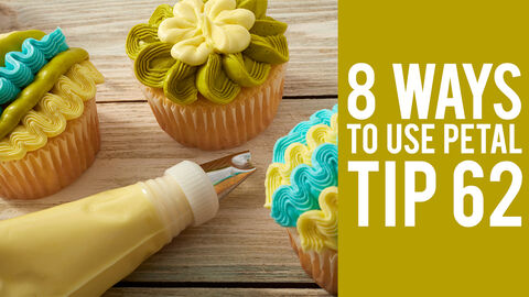 8 Ways to Use Petal Tip 62