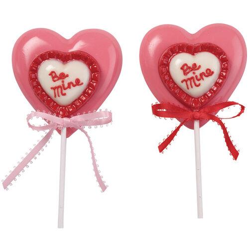 Two Hearts As One Lollipops