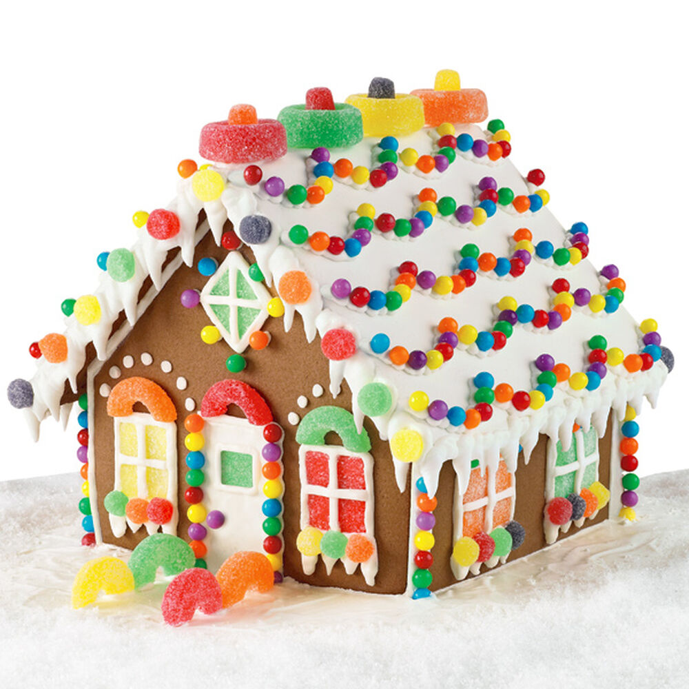 Candy chalet gingerbread house wilton