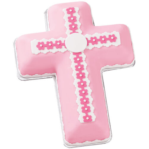 Wilton Cross Cake Pan Decorating Ideas