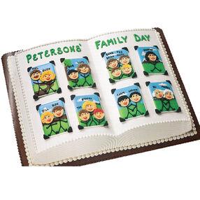 Family Album Cake