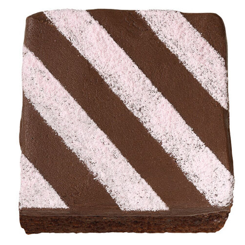 Diagonal Drama Brownies