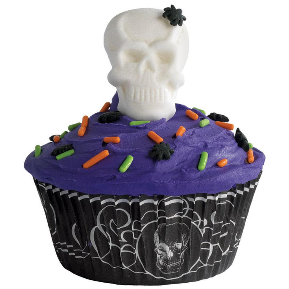 Skull Cupcakes Wilton