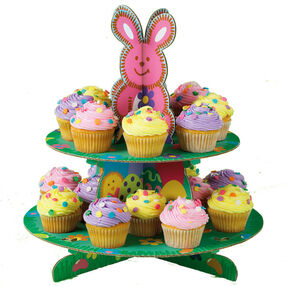 Spring Confetti Cupcakes