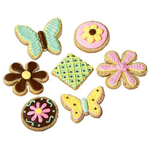 Springtime Shortbread Snacks