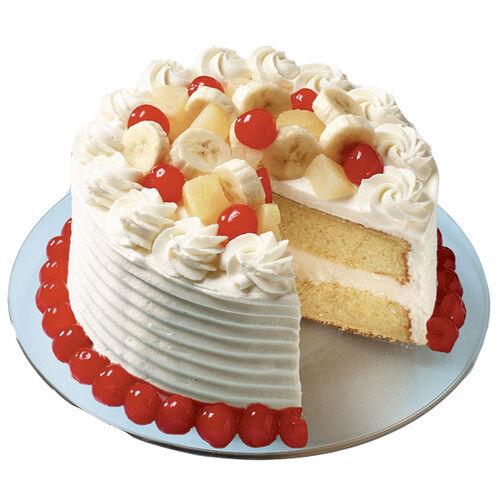 http://www.wilton.com/banana-split-ice-cream-cake/WLPROJ-4741.html
