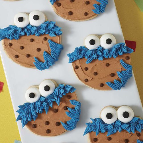 Cookie Monster S Favorite Cookie Wilton