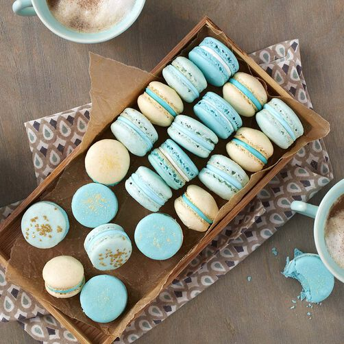 Wilton Blue French Macarons