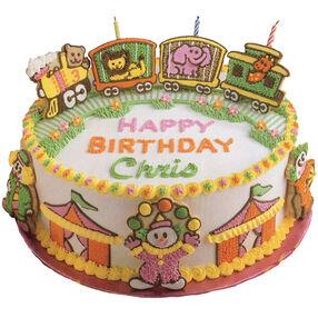 All Aboard For Birthday Fun Cake