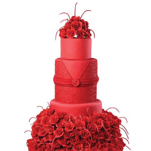 Crimson Cornelli Cake
