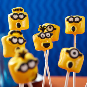 Mischievous Minion Marshmallows