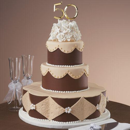 Setting The Gold Standard Cake Wilton
