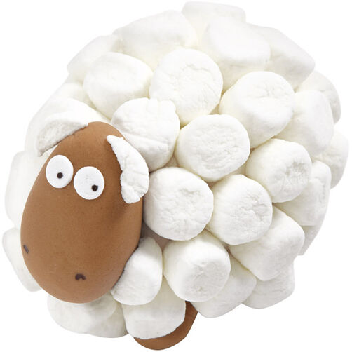 Sheep Peeping Easter Eggs