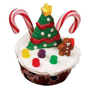 Tree Scene Cupcakes