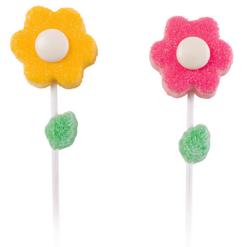 Polar Pansies Ice Cream Pops