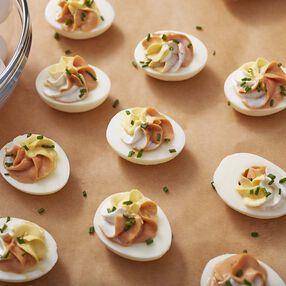 Wilton Spicy BBQ Deviled Eggs