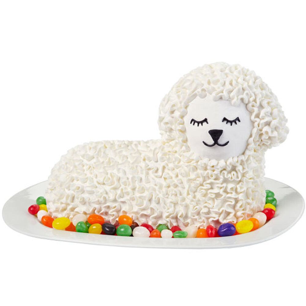 Wilton Easter Cake Decorating Ideas : Lovin  Lamb Easter Cake Wilton