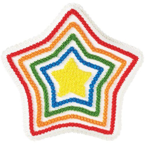 Star Spectrum Cake