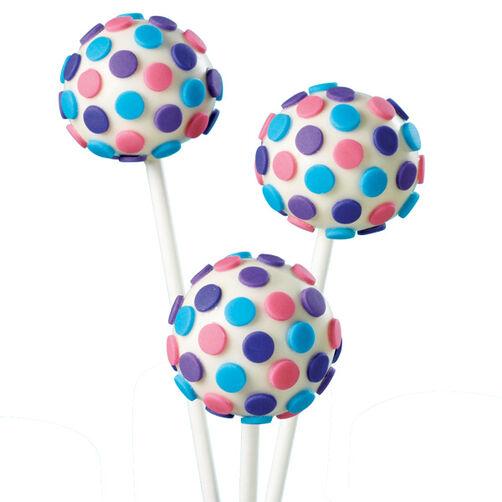 Polka Dot Cake Pops