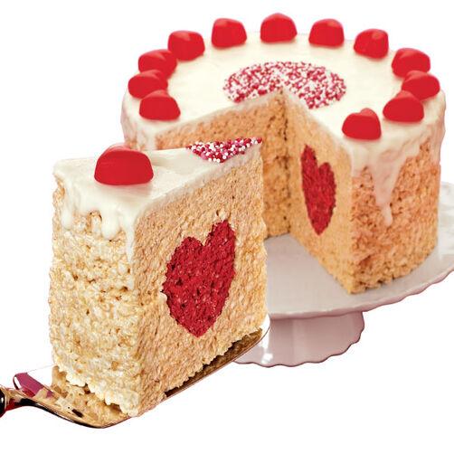A Crispy Cake with Heart