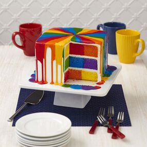 Wilton Over the Rainbow Checkerboard Cake