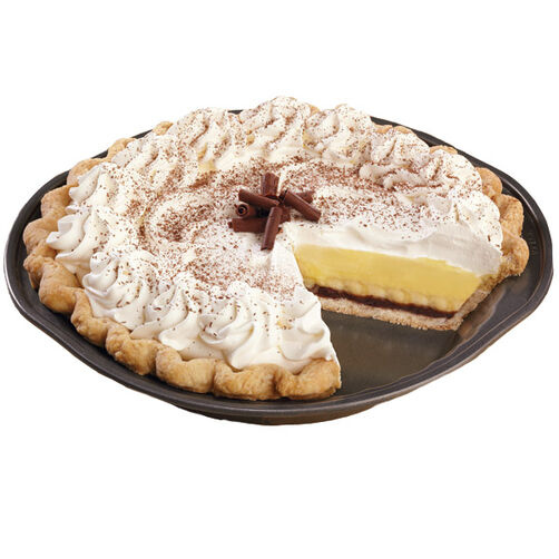 http://www.wilton.com/black-bottom-banana-cream-pie/WLRECIP-404.html