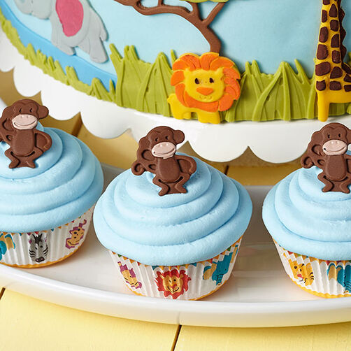 Monkey Business Cupcakes