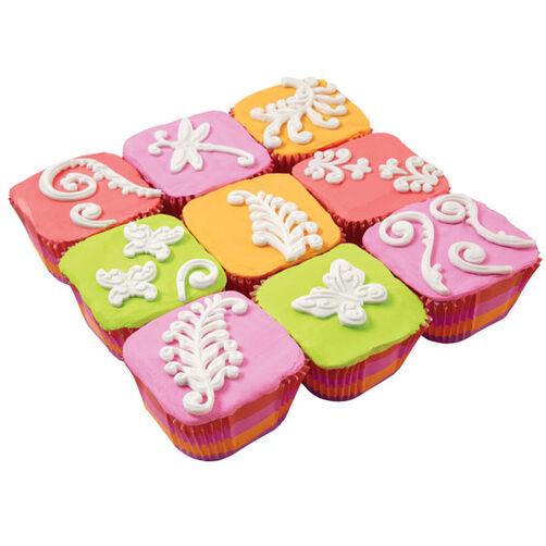 Nature Squared Cupcakes
