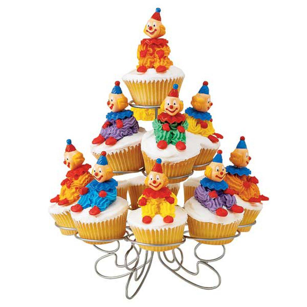 Clown Cupcakes Wilton