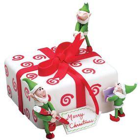 Santa's Helpers Cake