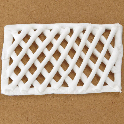 Lattice on a Gingerbread House