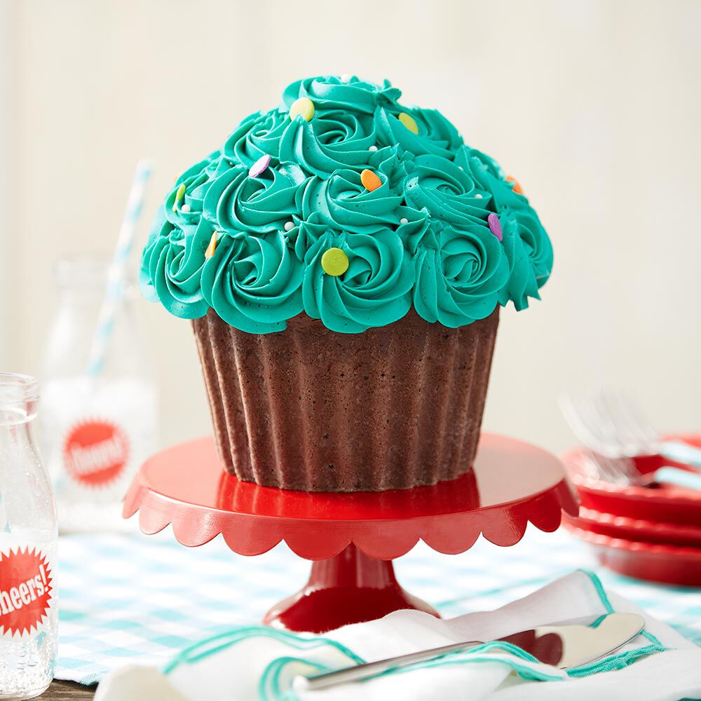 Wilton Giant Cupcake Decorating Ideas