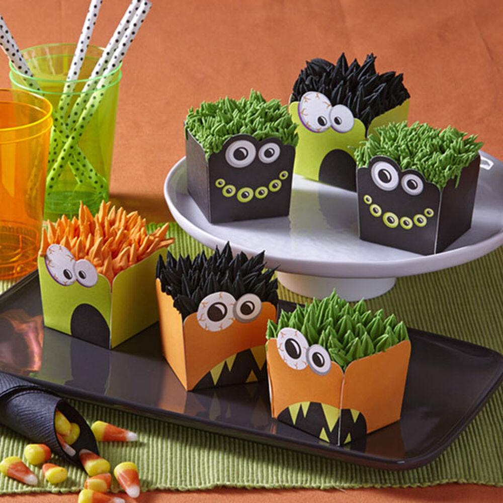 hair raising halloween monster cupcakes zoom