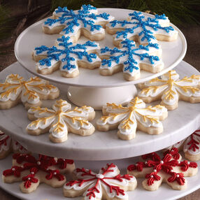 Snowflake Shortbread Cut-outs