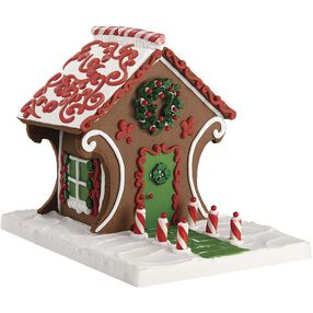 Fancy Gingerbread Cookie House #1