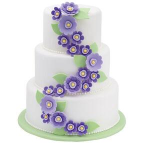 Veering Violets Cake
