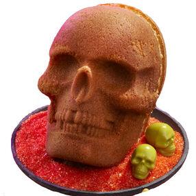 Skull Pound Cake (Pumpkin Spice Pound Cake)