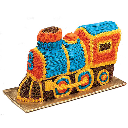 Express Train Cake Design Wilton